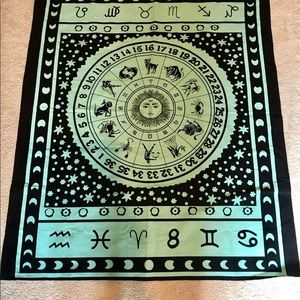 Astrological wall hanging or table cloth